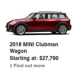 2018 MINI Clubman Wagon